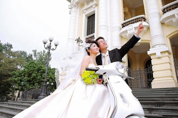 Những địa điểm chụp ảnh cưới hot của Hà Nội năm 2014