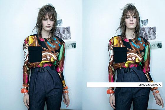 Balenciaga ad campaign spring 2012