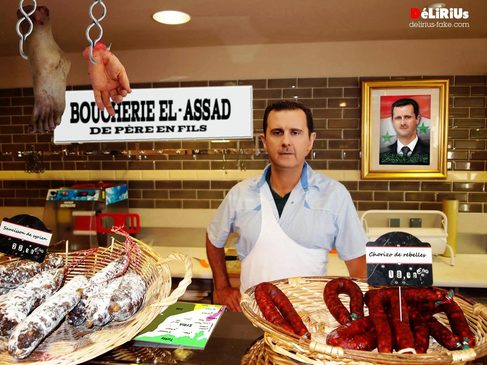 """Pour Manuel Valls, Bachar el-Assad est """" un boucher """""""