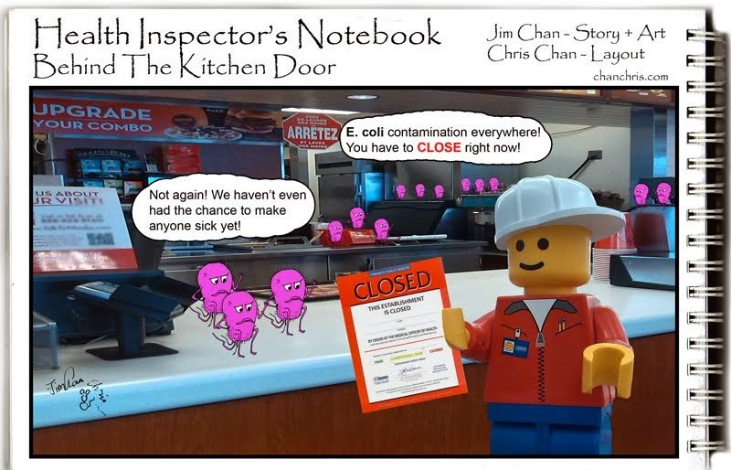 Health Inspector's Notebook Comics
