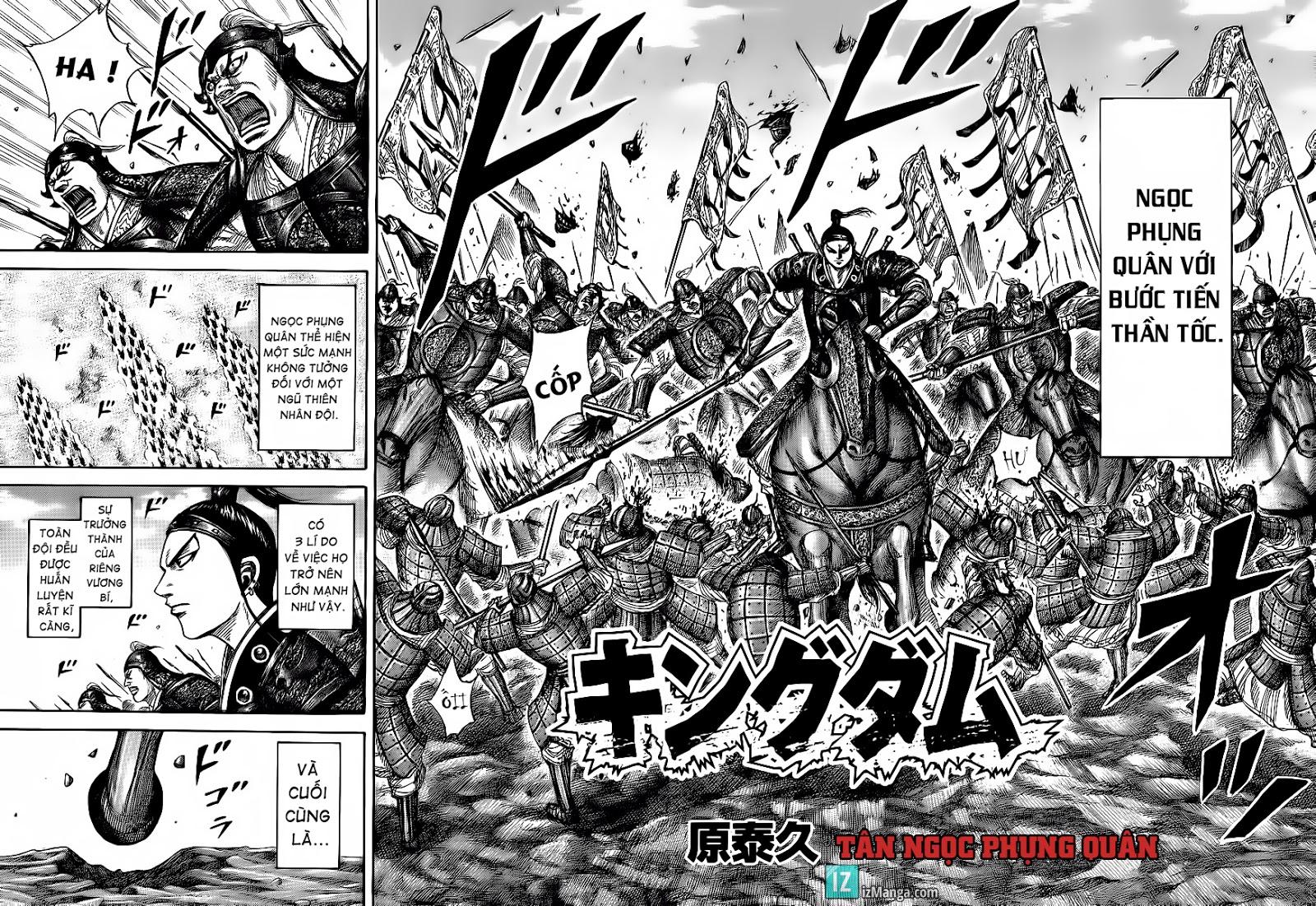 Kingdom – Vương Giả Thiên Hạ (Tổng Hợp) chap 388 page 3 - IZTruyenTranh.com