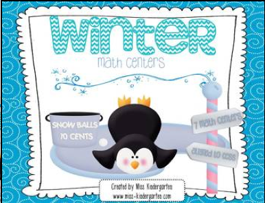 http://www.teacherspayteachers.com/Product/Winter-Centers-Math-472359