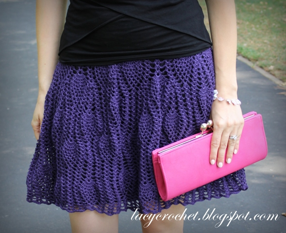 Lacy Crochet: My New Skirt