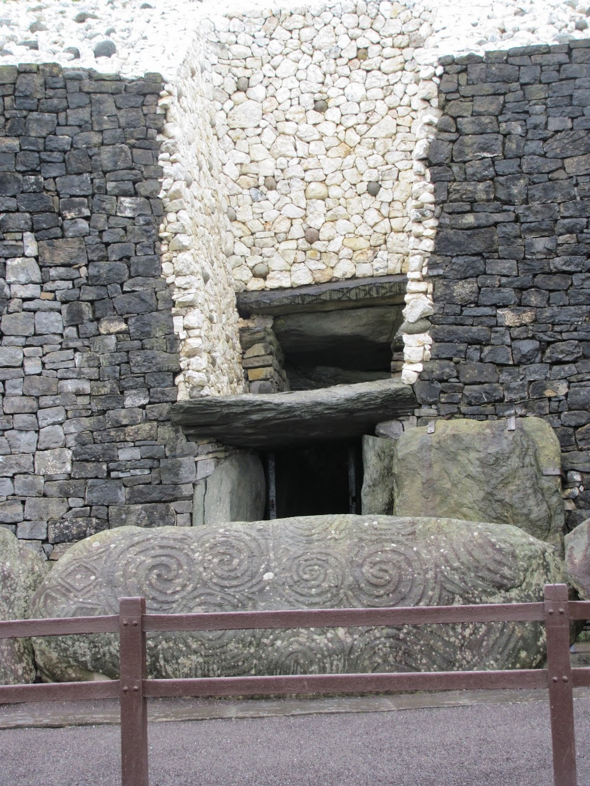 Newgrange Entrance Stone Co. Meath, Ireland