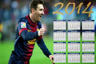 Calendario de messi