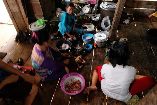 dapur tradisional di sumatera selatan