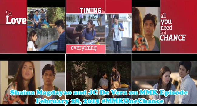 Watch Trailer of Shaina Magdayao and JC De Vera on MMK Episode February 28, 2015 #MMKOneChance