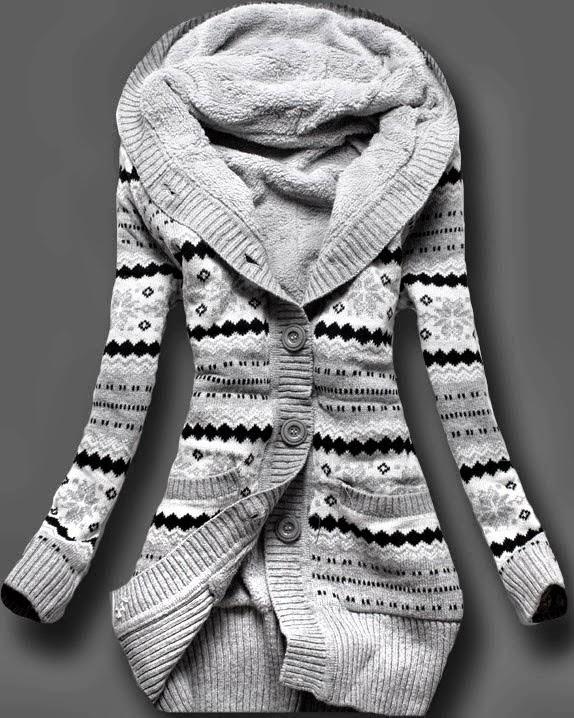Amazing Norwegian Style Full Sleeves Sweater