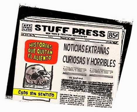 Front page - noticias curiosas extrañas horribles