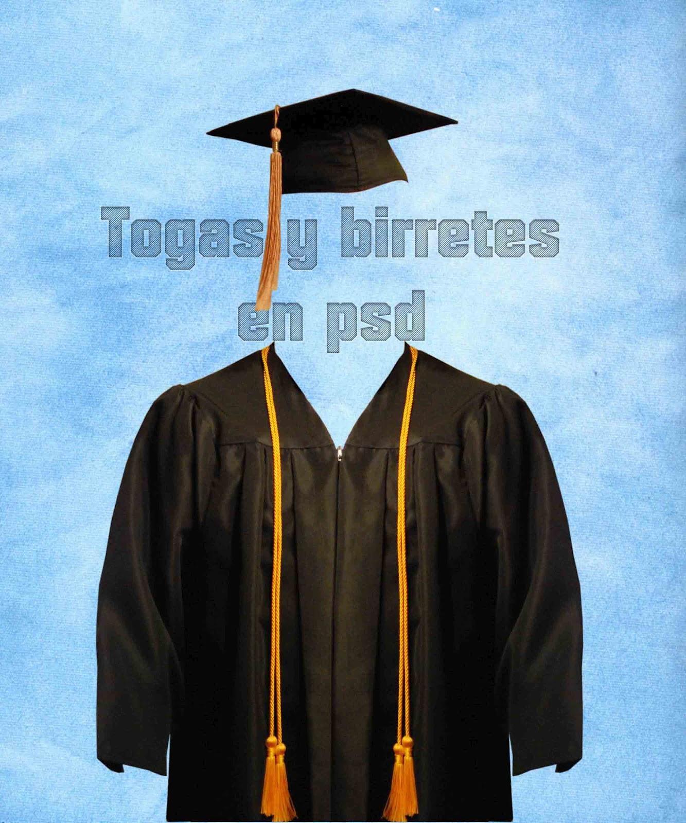 Toga Y Birrete De Graduacion