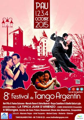 Le Festival Tango Argentin 2015 à Pau
