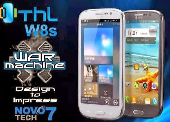 THL W8s and THL W100s by Novo7Tech