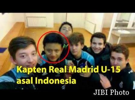Muhammad Daffa Imran Kapten Real Madrid U-15