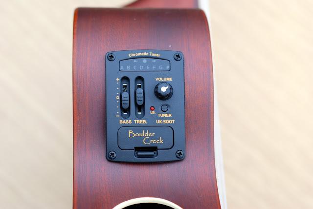 Riptide EUC-5NS concert ukulele pickup