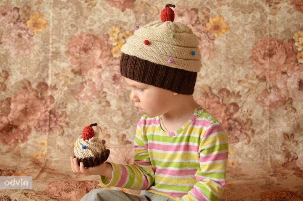Шляпка в виде пирожного своими руками