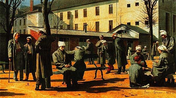 Мари Франсуа Фирмен-Жерар. Выздоравливающие. 1861.