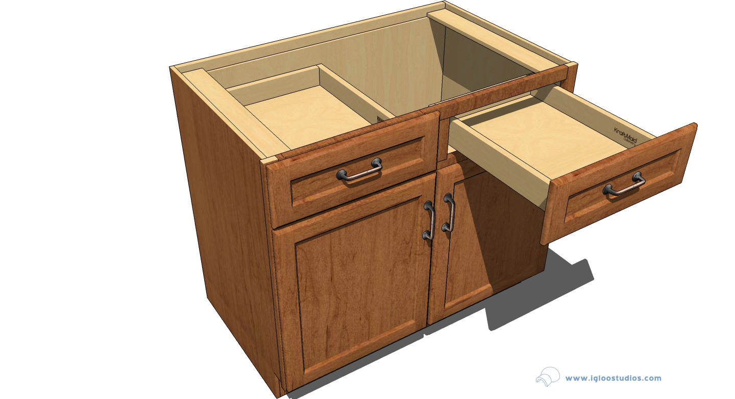 Products for sketchup kraftmaid cabinetry igloo studios for Cupboard cabinet