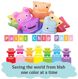 Paint Chip Pals Color Card Dolls Andrea Currie