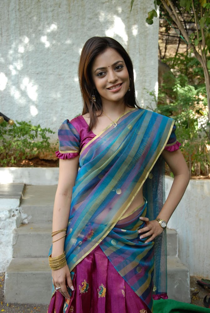 Actress Kajal Agarwal Sister Nisha Agarwal Hot And Cute Sexy Navel HD Images Of Navel