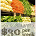 How to Stick With a $30 per Week Grocery Budget
