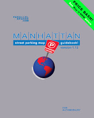 Manhattan Parking Map (print, ibook and ebook!)