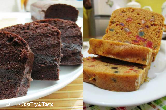 Brownies & Fruitcake Kukus
