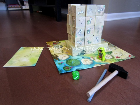 HABA Expedition Dino review