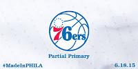 Philadelphia 76ers Rebranded Logo - Partial Primary