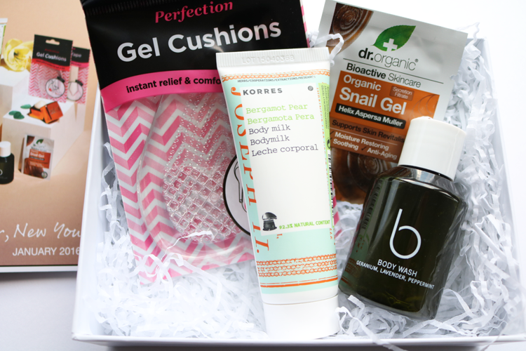 Beauty Box: You Beauty Box - January 2016 review