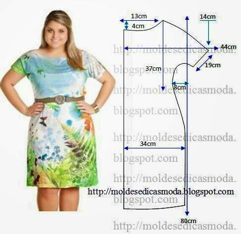 Как сшить летнее платье женщине 50 лет