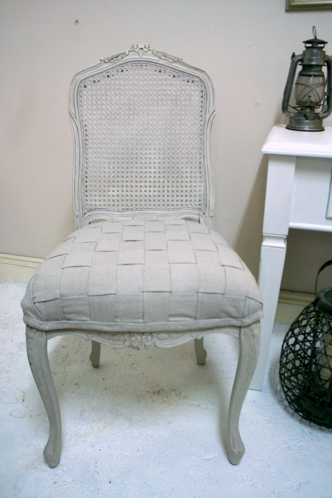 french chair makeover and again