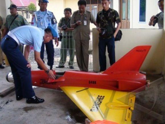 Pesawat Tanpa Awak Jatuh di Bintan Riau