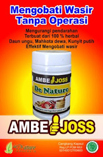New Obat Wasir De Nature Ambejoss