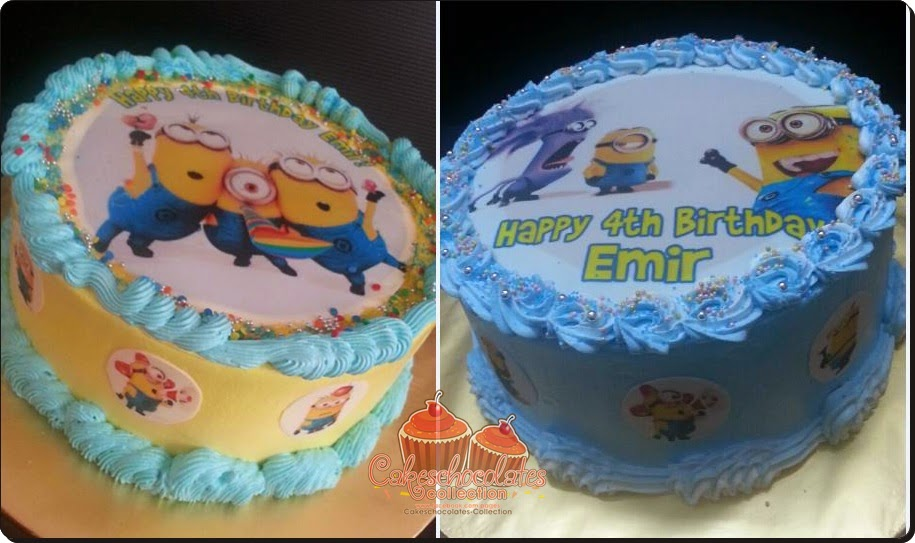Birthday Cake Images Minions ~ Birthday cakes upin ipin minions cakeschocolates collection