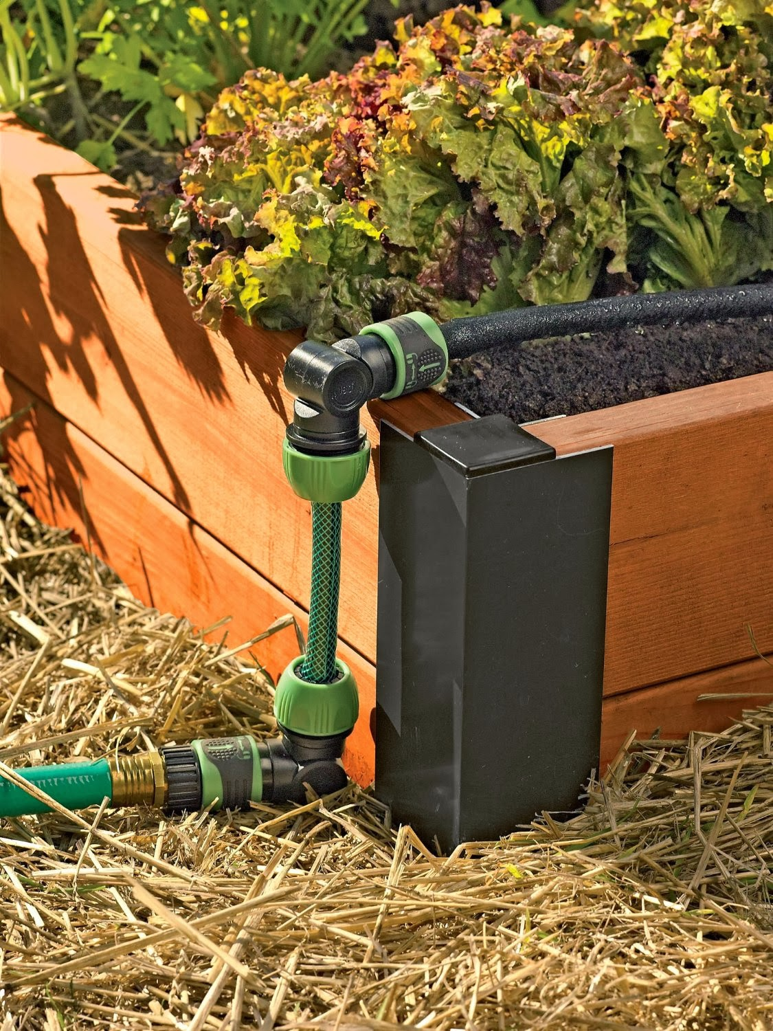 alternative green world raised bed snip n drip soaker system