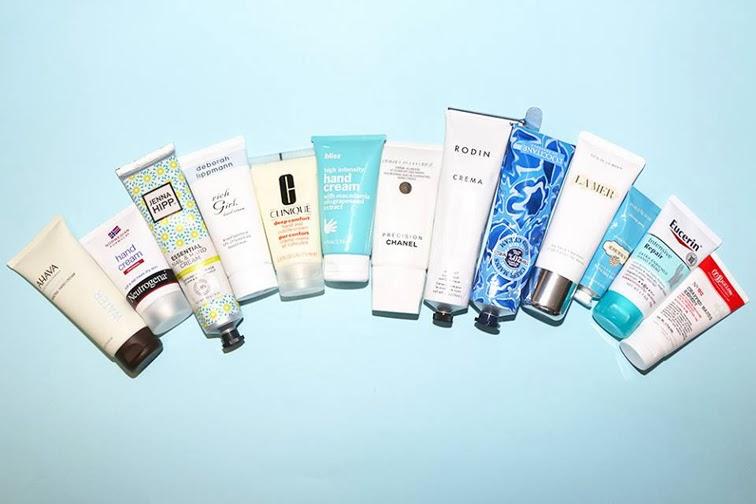 Skin care hand moisturizer Ahava Neutrogena Eucerin Chanel Clinique Deborah Lippman Bliss RodinJenna Hipp La Mer