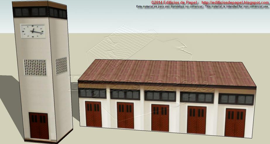 Maquetas 1547 y 1548 - Edificios de Papel (C)2015