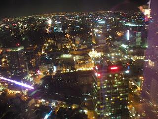 Views from Ho Chi Minh City Saigon Skydeck