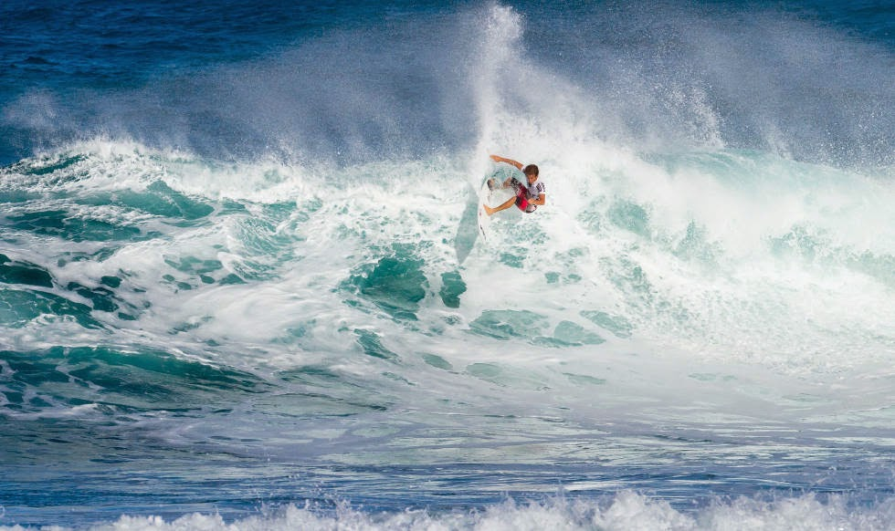 54 Vans World Cup of Sufing 2014 Billy Stairmand Foto ASP