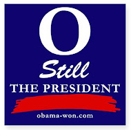 """O"" Still the President Bumper Stickers & Magnets"