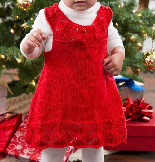 Beautiful Baby Dress Knitting Pattern