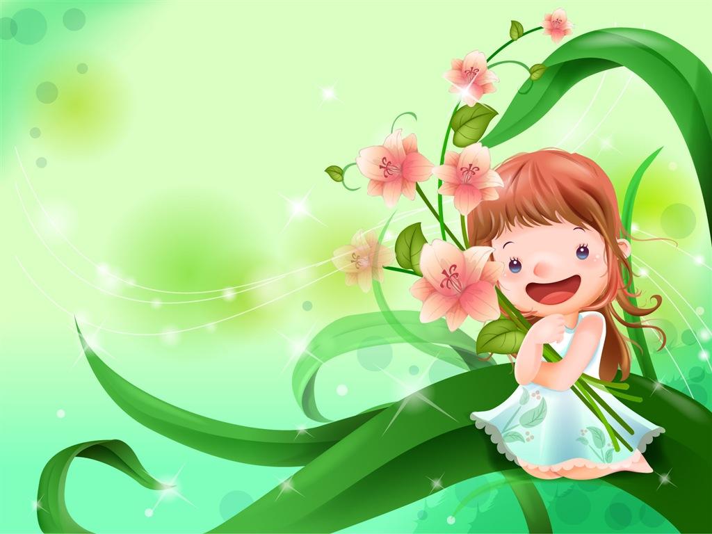 CFG Free Game: 可愛圖案 Cute Cartoon Wallpaper 03 童年卡通可愛桌布 03