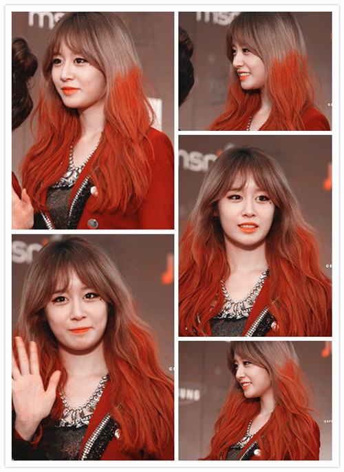 PARK JIYEON RED CARPET GDA 2013 PHOTO EDIT