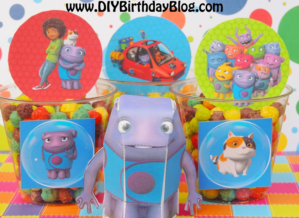 DIY Birthday Blog: Home Birthday Party Idea- Tip, Oh, Pig The Cat