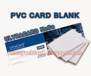 pvc card blank