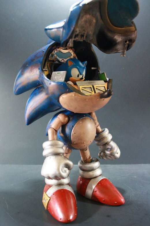 Custom Sonic Mech por kodykoaal