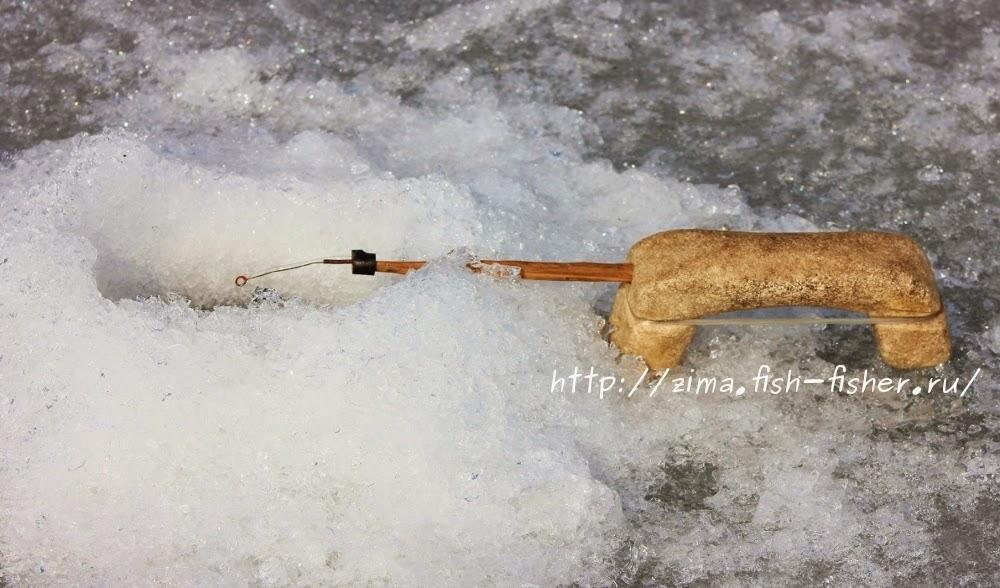 Зимняя удочка самодельная кобылка