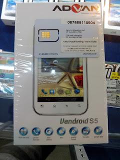SMARTPHONE ADVAN VANDROID S5