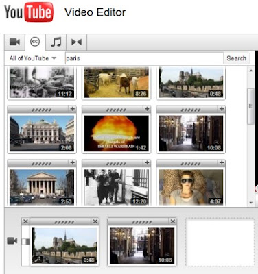 youtube video editor cc