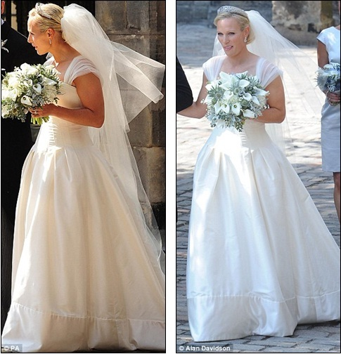 Zara Phillips Royal Wedding